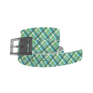 Summer Plaid Belt