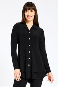 Black Charm Shirt by Sympli