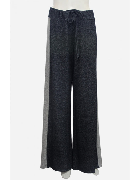 Colorblock Wide Leg Pant