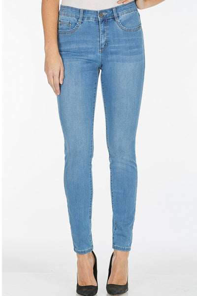 Cool Denim Christina Slim Leg Denim Jeans by French Dressing Jeans