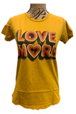 Love More Tee D2143A09 by Dazey LA