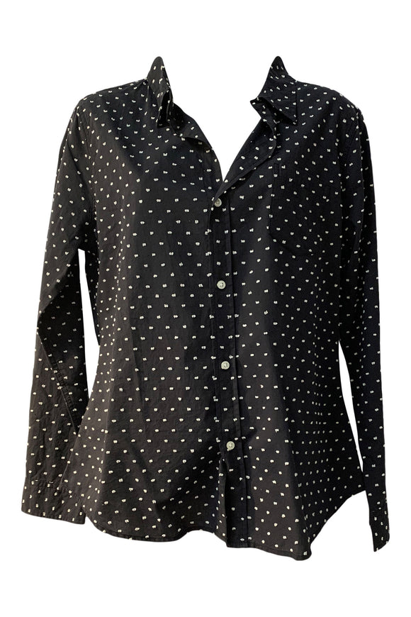 Chic Dot Blouse