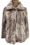 Melange Texture Plush Jacket by Dylan