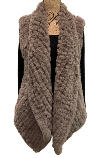 Plush Pia Faux Fur Vest 91W21KFV by Dylan