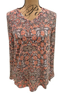 Art Nouveau Print Top 1494176 by French Dressing Jeans