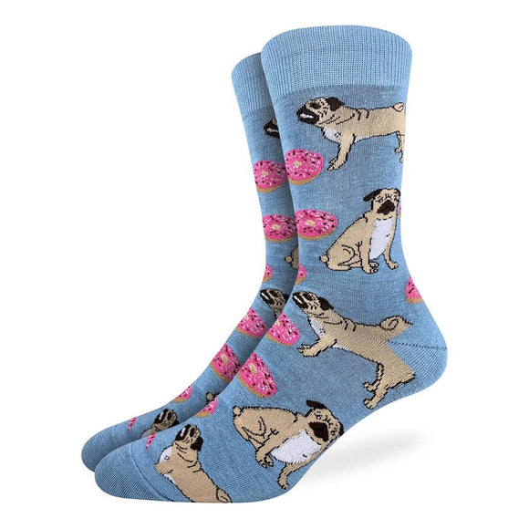 Pugs and Donuts Sock