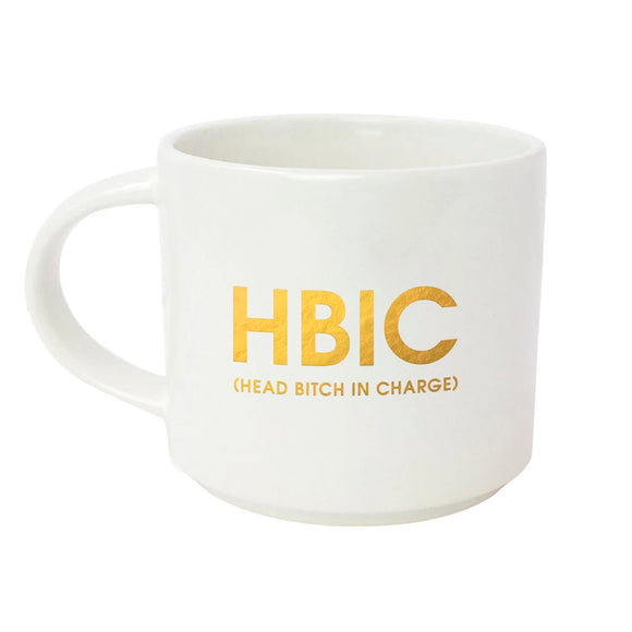 Head Bitch In Charge Mug by Chez Gagne