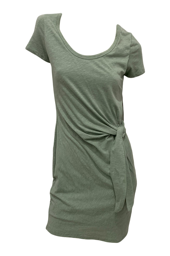 Side Knot Tee Dress