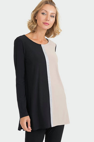 Round Neck Top 193076 by Joseph Ribkoff
