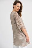 Openwork Pearl Beaded Jacket