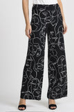 Wide Leg Print Pants 201184 by Joseph Ribkoff