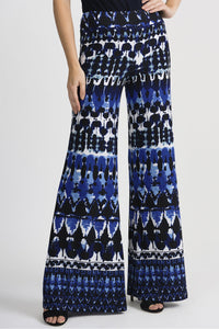 Wide Leg Print Pants 201357 by Joseph Ribkoff
