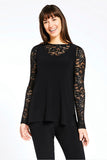 Black Lace Barely T by Sympli