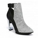 Lev Vamp Hi in Mono Leather by United Nude