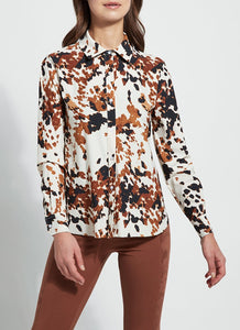 Connie Slim Button Down