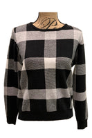 Plaid Sweater LS9018 by Patrizia Luca