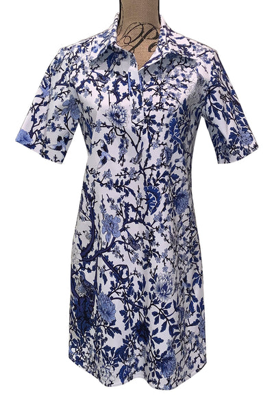 Short Sleeve Dress A49F by Pure Amici