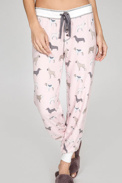 Raining Cats and Dogs Banded Pant by PJ Salvage