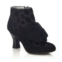 Seren Booties in Black by Ruby Shoo