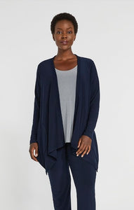 Jersey Motion Trim Cardigan