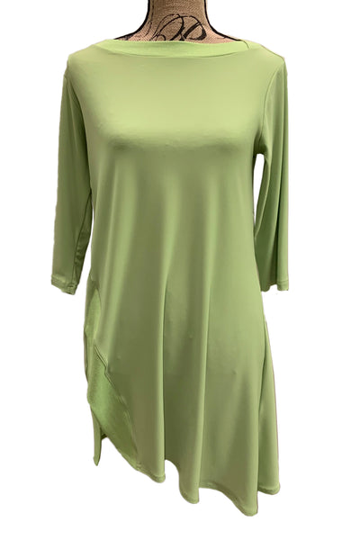 Edge Boat Neck Tunic 23135-2 by Sympli