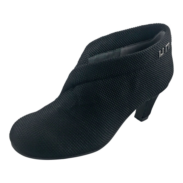 Fold Mid 18 Black Knit by United Nude