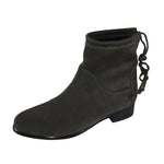 Bella 18 Waterproof Grey Suede Bootie by Valdini