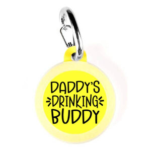 Daddy's Drinking Buddy Dog Tag