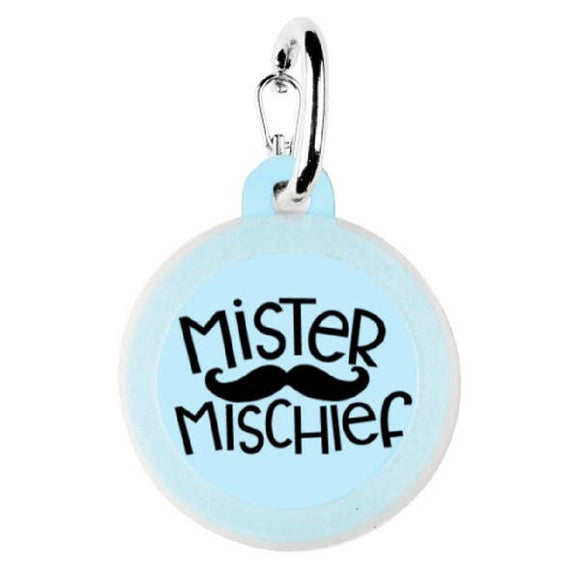 Mister Mischief Dog Tag