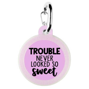 Trouble Dog Tag