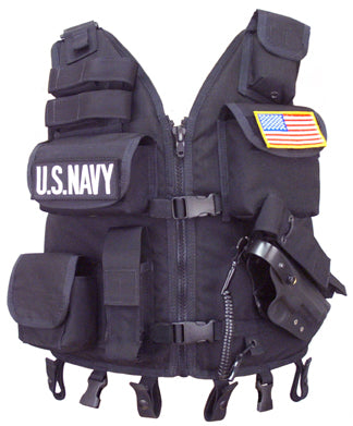 Tac Vest w/Flotation and Holster