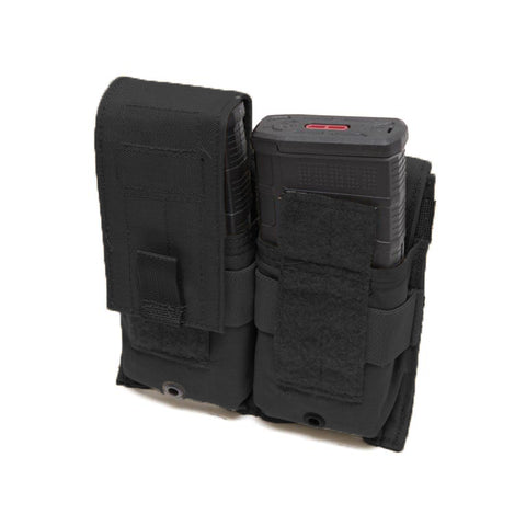 MODULAR DOUBLE M4/M14/MP5 MAG POUCH WITH BELT ATTACHMENT