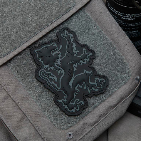 Lion Logo PVC Patch