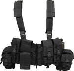 Load Bearing Chest Vest w/ Zipper