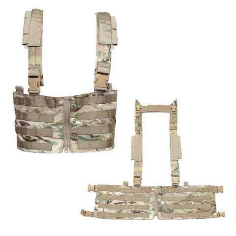 Low Profile Chest Rig W/ Zipper