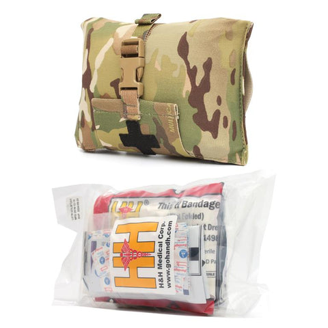 Stretch Blow-Out Kit Pouch w/ Med Kit