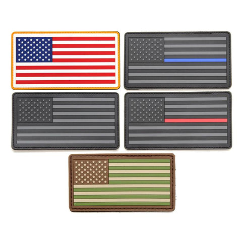 PVC Flag Patch (Small)