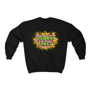 Melanin King Heavy Blend™ Crewneck Sweatshirt
