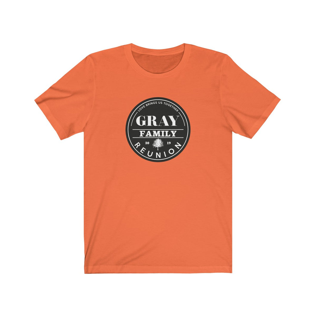 Gray Family Reunion Tee