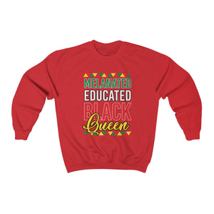 Melanated Educated Heavy Blend™ Sweatshirt
