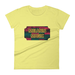 Melanin Magic Women's short sleeve t-shirt