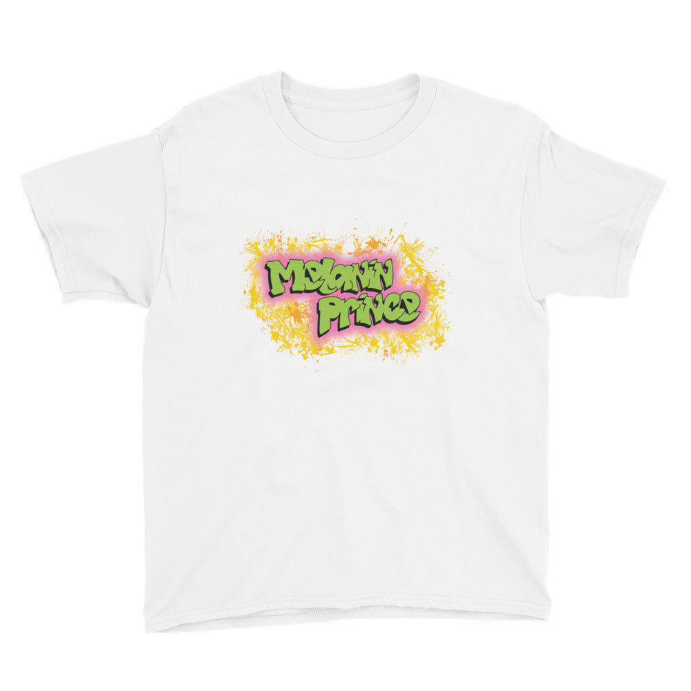 Melanin Prince Big Kids T-Shirt