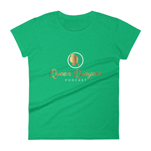 Queen Quaymo Podcast Women's short sleeve t-shirt