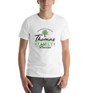 Family Reunion T-Shirts - Email/Contact Us 1st for Customizations