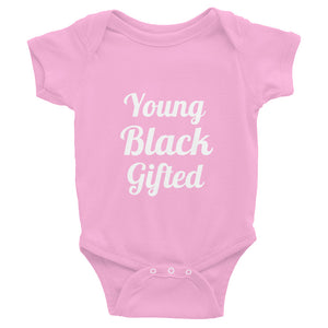 Young Black Gifted Infant Onesie