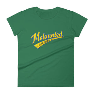 Melanated Women's short sleeve t-shirt