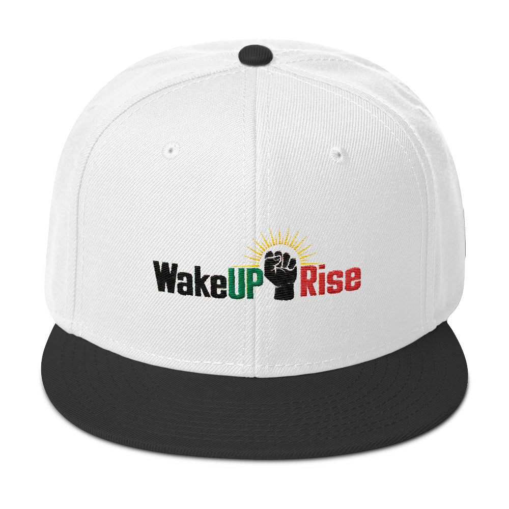 WakeUp Rise Snapback Hat