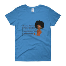 Black Woman Facts Women's t-shirt