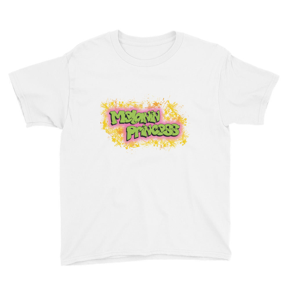 Melanin Princess Big Kids T-Shirt