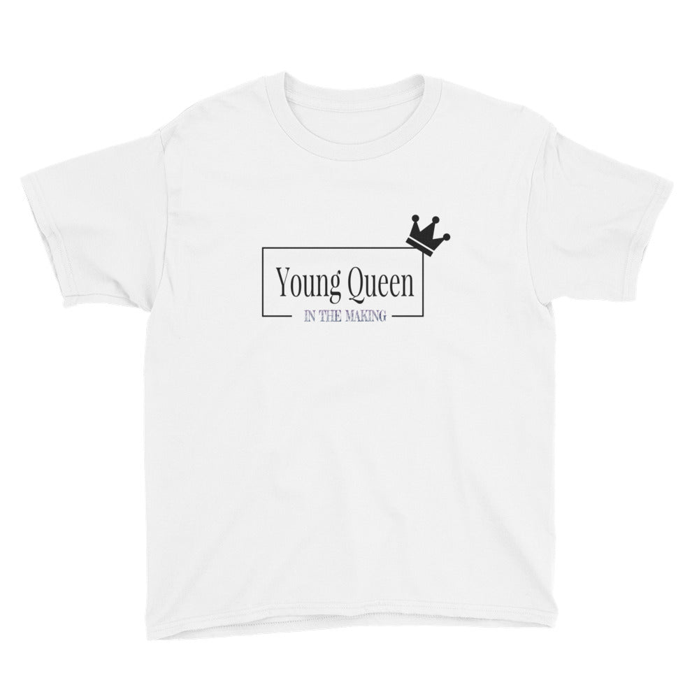 Young Queen In The Making Youth T-Shirt